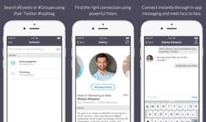 Professional Networking App