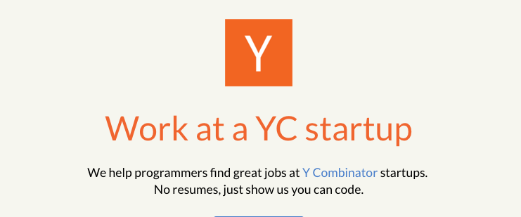 ycombinator startups jobs