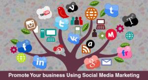 PROMOTE USING SOCIAL MEDIA