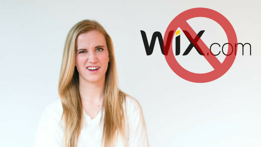 why not to use wix