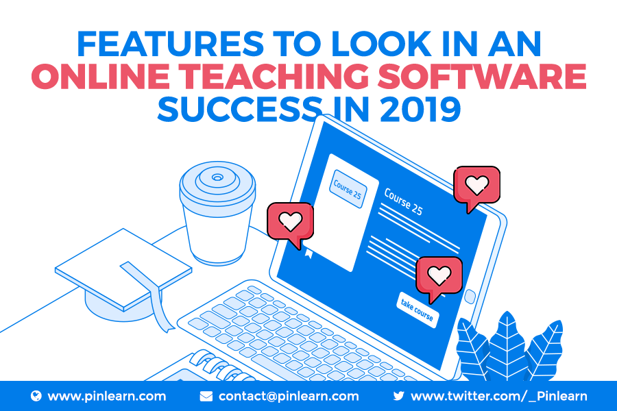 Features to look in an online teaching software success in 2019