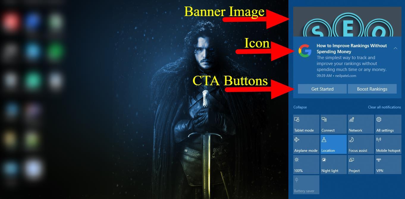 Add CTA Buttons